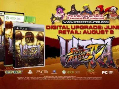 Capcom Releases Ultra Street Fighter Iv Pre Order Costumes Trailer