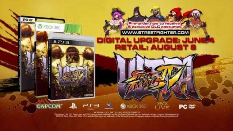 Capcom Releases Ultra Street Fighter IV Pre-Order Costumes Trailer