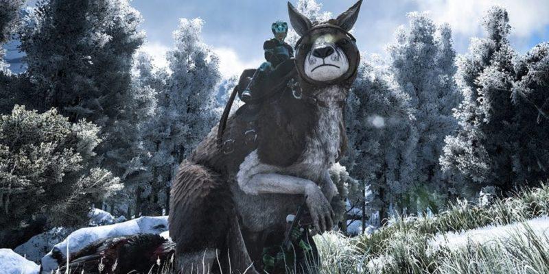 Celebrate New Years On A Giant Kangaroo