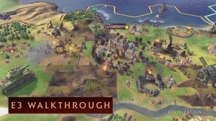 Civilization VI: E3 Gameplay Demo