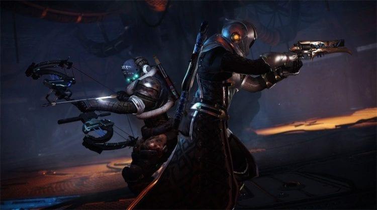 Destiny content vault Forsaken Warlocks