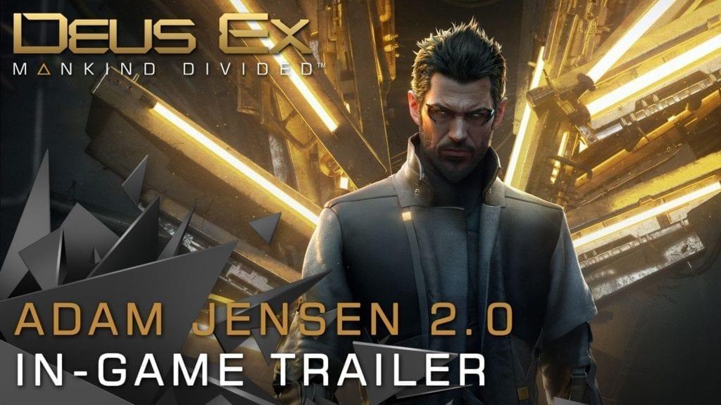 Deus Ex: Mankind Divided | Adam Jensen 2.0 Trailer