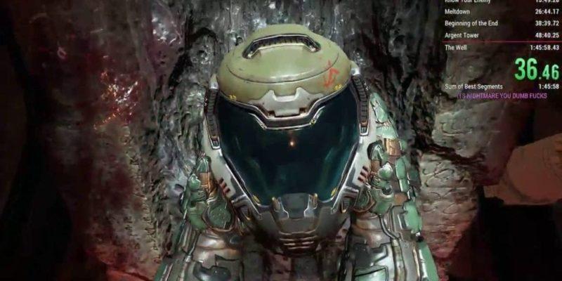 Doom Nightmare Mode Beaten In 101 Minutes