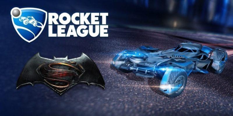 Drive The Batmobile… In Rocket League