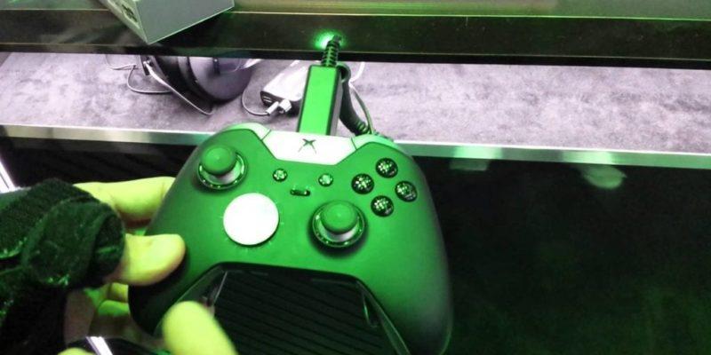 E3 2015: Xbox One Elite Controller Close Up