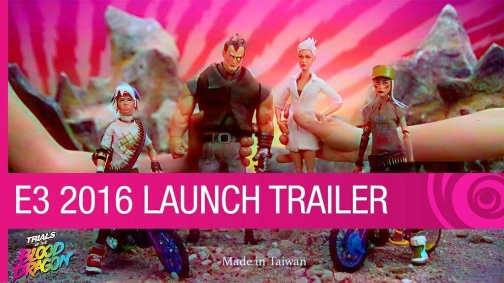 E3 2016: Ubisoft Announces Trials Of The Blood Dragon