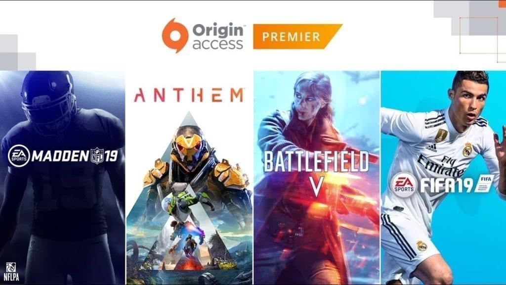 Ea Reveals New Subscription Service Origin Access Premier