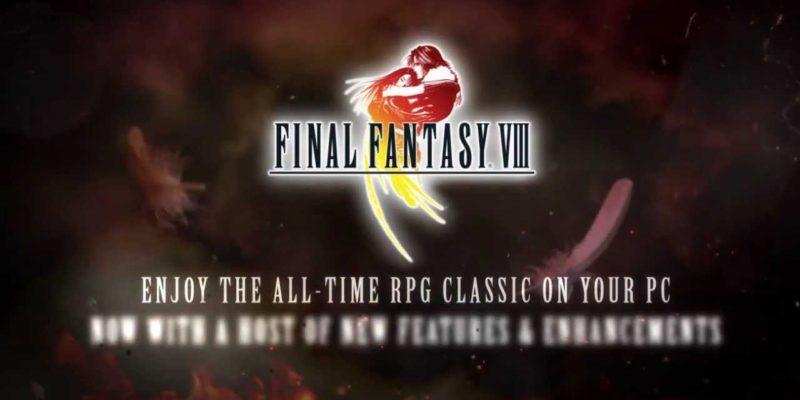 Final Fantasy Viii Released On Steam