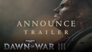 Finally, Warhammer 40,000: Dawn Of War Iii Is Coming