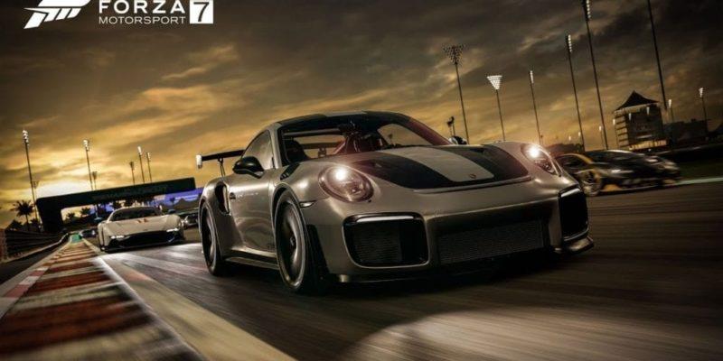 Forza Motorsport 7 Shows Porsche 911 Gt2 Rs In Dubai
