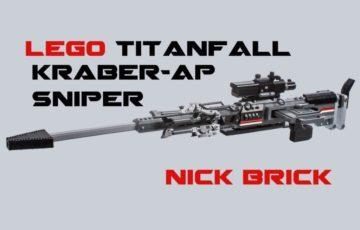 Fun Stuff: A Fan Rebuilt A Titanfall Rifle In Legos. To Scale