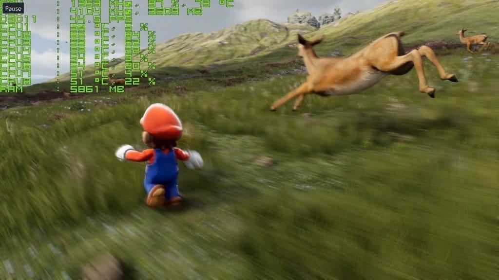 Fun Stuff: Watch Super Mario In The Unreal Engine 4 Demo
