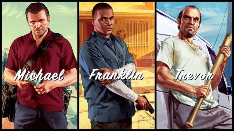 GTA V trailer shows off Michael, Franklin, and Trevor