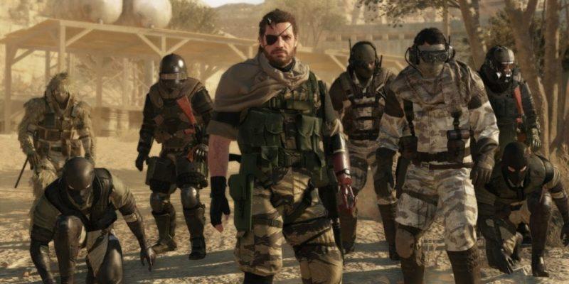 Metal Gear Online, Part Of Metal Gear Solid: The Phantom Pain, Released