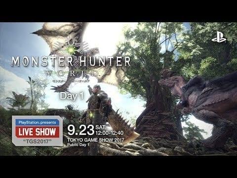 Monster Hunter World: New Gameplay Video