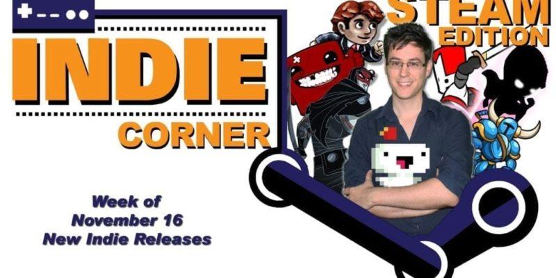 New Indies On Steam For Week Of Nov 16 – Indie Corner
