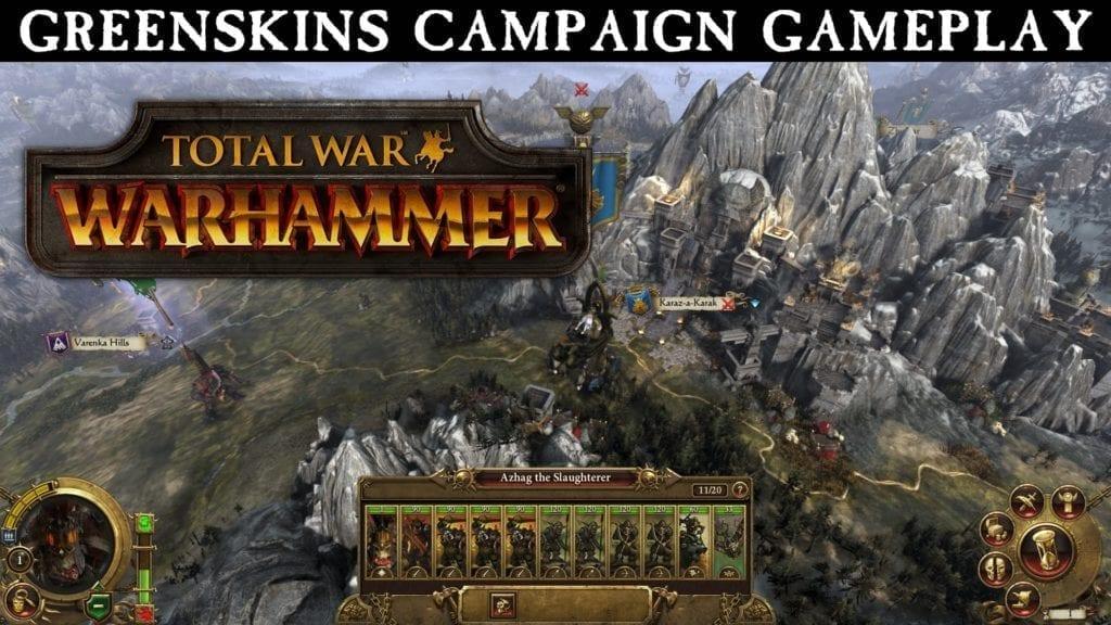 New Total War: Warhammer Gameplay Trailer Focuses On Greenskins Campaign
