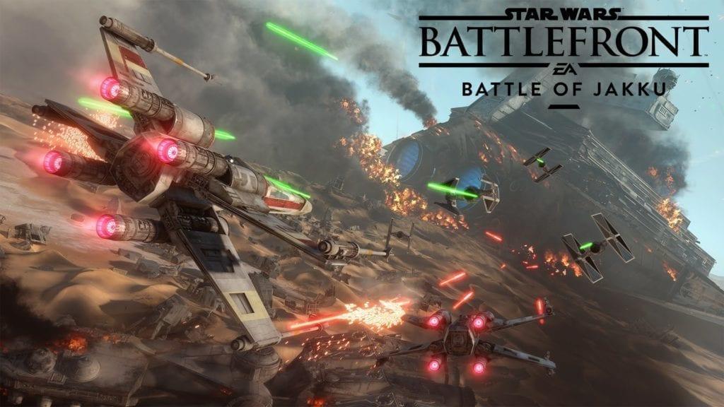 New Trailer For Battlefront's Battle Of Jakku Dlc
