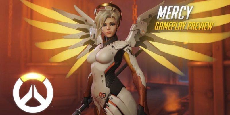 Overwatch: Mercy Gameplay Revealed