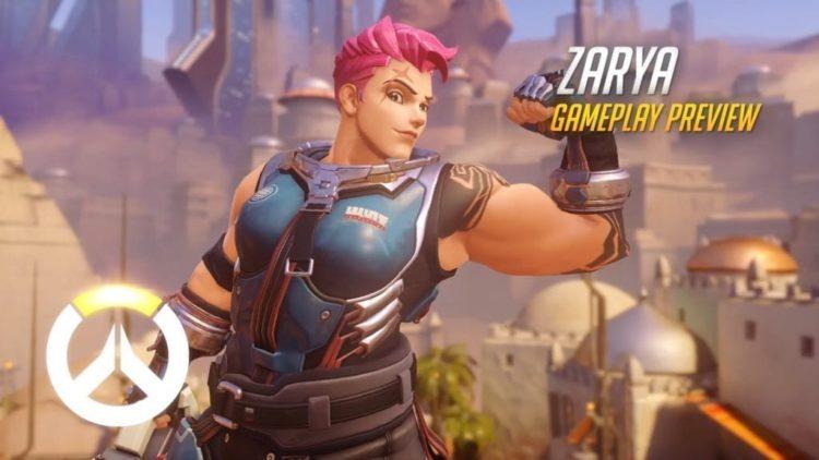 Overwatch's Zarya Has Big Guns and A Big Gun
