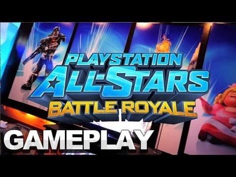 Playstation All Stars Battle Royal Offscreen Footage