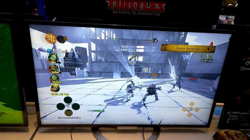 Teenage Mutant Ninja Turtles: Mutants In Manhattan Gameplay Revealed