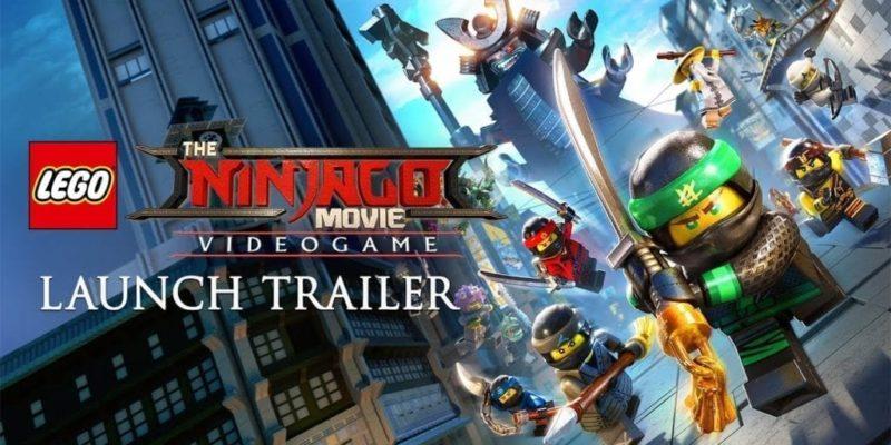 The Lego Ninjago Movie: Launch Trailer