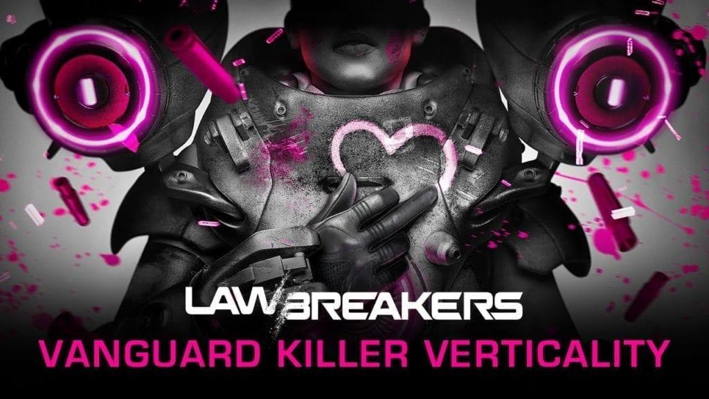 The New Lawbreakers Trailer Focuses On Vanguard Class