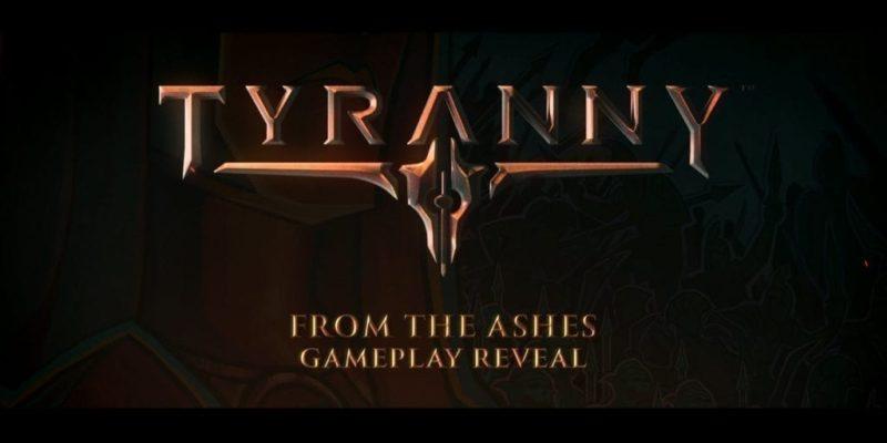 Tyranny Gameplay Reveal
