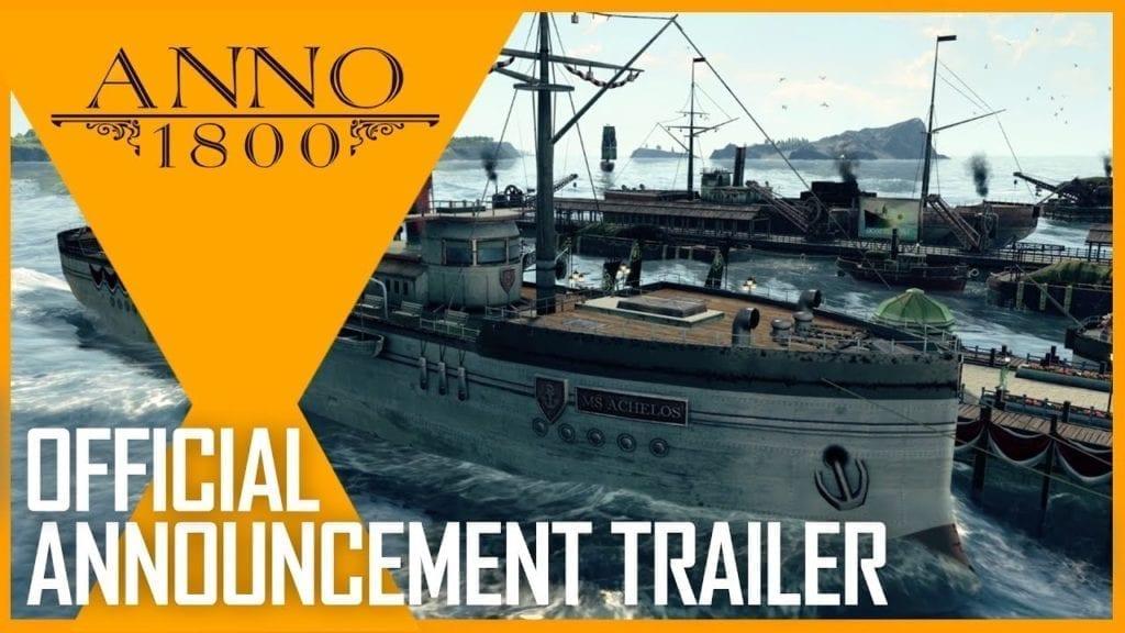 Ubisoft Announces Anno 1800