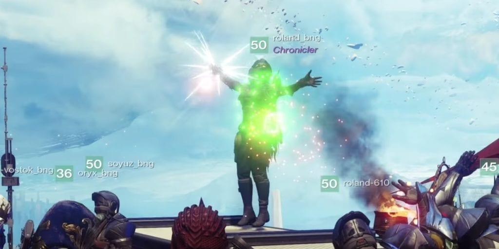 Destiny 2 Forsaken Chronicler Title