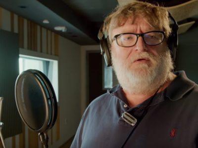 Dota 2 Gabe Newell Announcer