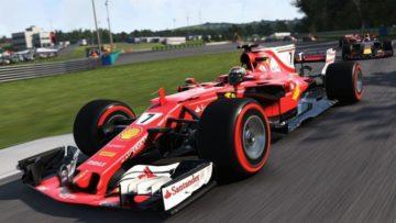 F1 2017 Red Eacer