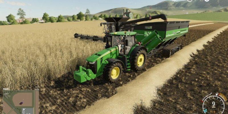 Farming Siimulator 19 John Deere In Game Harvest