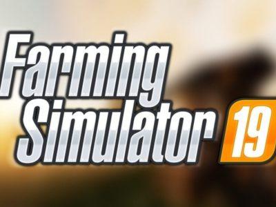 Farming Simulator 19 Blurred Logo