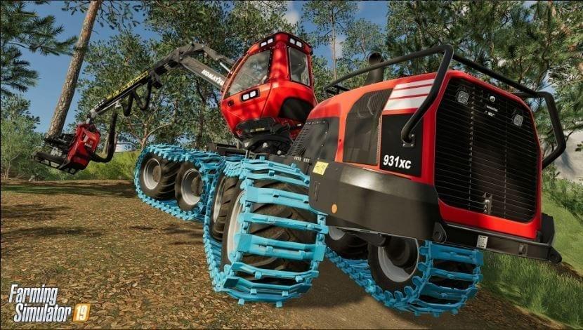 Farming Simulator 19 Komatsu Forest Machinery