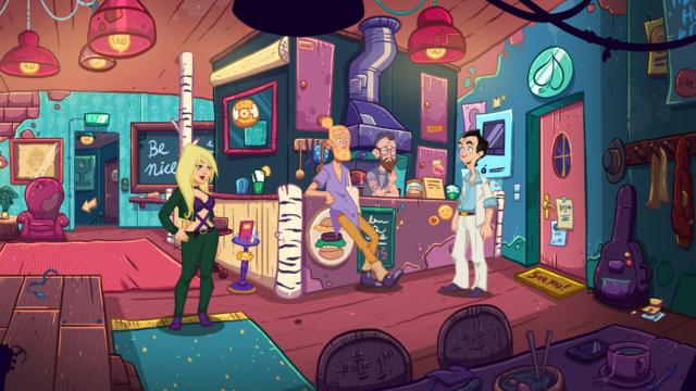 Leisure Suit Larry Wet Dreams Don't Die Hipster Bar