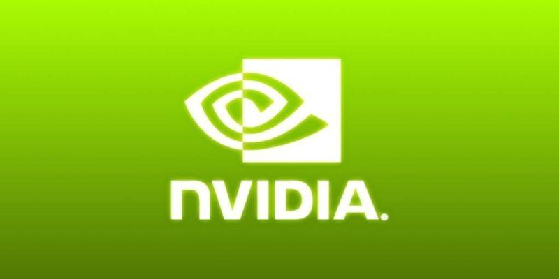 Nvidia Basic Glow Logo