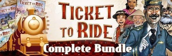 Ticket To Ride Complete Bundle