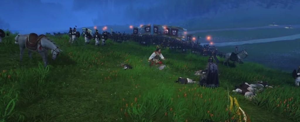Total War Three Kingdoms Ambush Of Sun Ren Night Battle