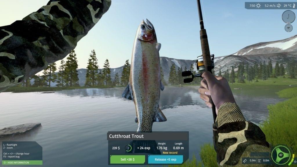 Ultimate Fishing Simulator Gameplay 1