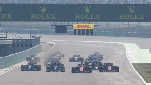 f1 2018 raceway