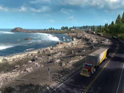 American Truck Simulator Oregon Dlc