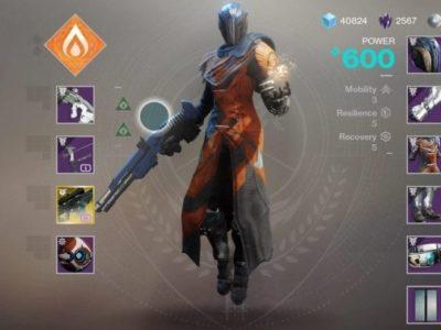 Destiny 2 Forsaken Warlock 600 Pl