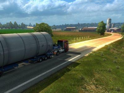 Euro Truck Simulator 2 Italy Driving