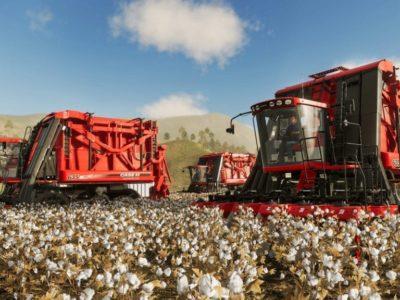 Farming Simulator 19 Cotton Harvesters