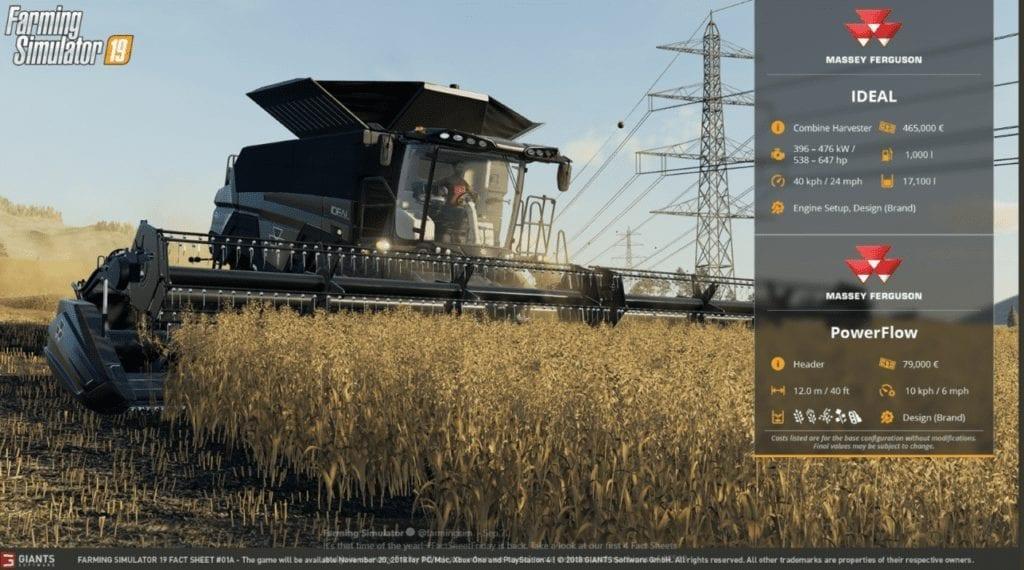 Farming Simulator 19 Massey Ideal