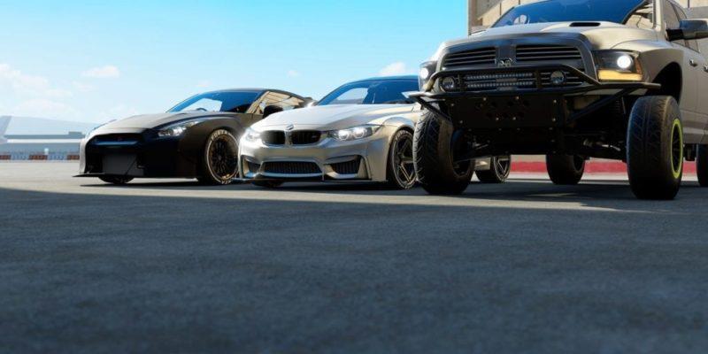 Forza Motorsport 7 Vehicle Trio