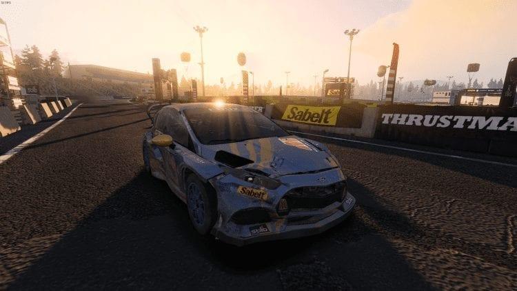 V Rally 4 Pc Rallycross Sun
