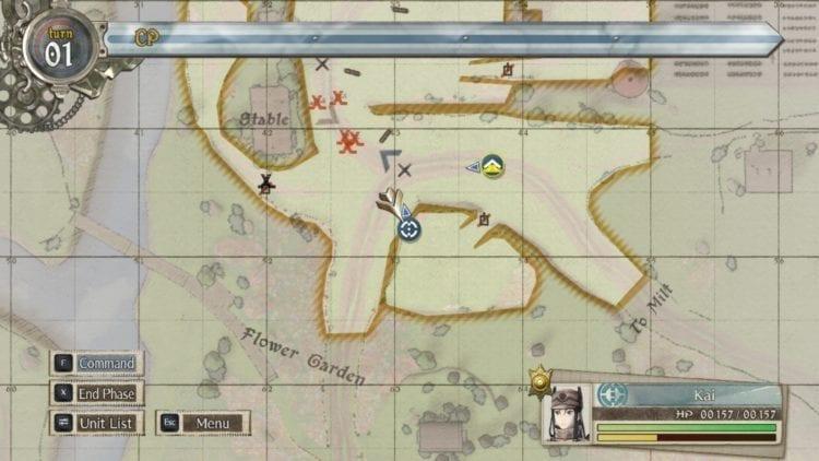 Valkyria Chronicles 4 Map Sub